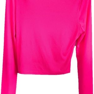 SHEIN Tops - No Thanks Graphic Long Sleeved Top Medium Pink